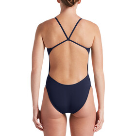 Nike Swim Hydrastrong Soldis CutOut One Piece Bañador Mujer, midnight navy